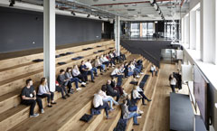 BCO NextGen Talk & Tour of Havas, Three Pancras Square