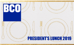 BCO President's Lunch 2019
