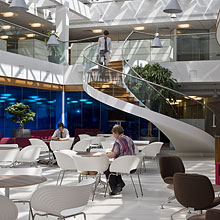 Bco bco awards 2009 fit out of workplace award for Interior design agency nottingham