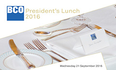 President's Lunch 2016