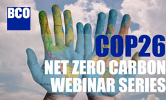 COP26 - Net Zero Carbon: Definitions & Inspirations